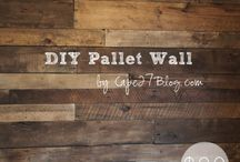 Pallet Ideas / by Margie B. ~~Mrs. Awesome Pants ~~
