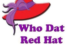 Red / Red hat / by Brenda Helmer