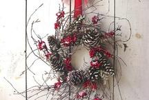 Christmas  / Some flower related Christmas ideas, OK, just Christmassy stuff I like!