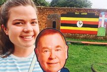 #BorenAbroad / OU students take Flat DBo all over the world!
