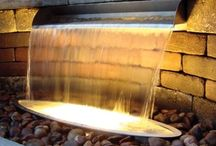 Scuppers / Atlantic Water Gardens Stainless Steel Scuppers bring a polished, gleaming dimension to the formal spillway line. Constructed of durable 304 stainless steel and available in 3 sizes, these sleek modern Scuppers put a sharp, fresh shine on your formal water feature project.