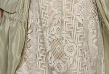 women romantic and elegant clothes / naisten romanttisia vaatteita joko itse tehtyjä tai valmiita.