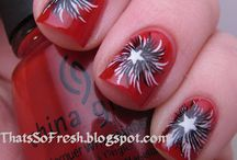 Nails - 4th of July / by kristi Lupkes