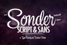 Sonder Script & Sans