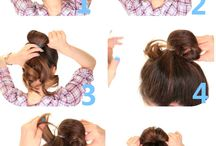 Bun Tutorial For Medium Hair