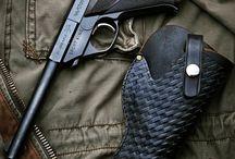 Pouzdro na pistoli Luger