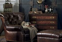 STEAMPUNK YOUR INTERIORS / https://interiorsonline.com.au/blogs/inspiration/how-to-steampunk-your-interiors