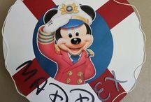 Decoracion Fiesta Mickey Marinero
