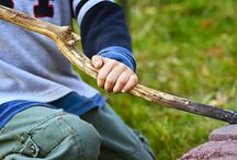 Play: Un-Toys / Some of the best toys for learning are free! Pine cones, sticks, clothespins, buttons, cotton balls, cardboard boxes, packaging saved from the recycling bin... Water, earth, air!