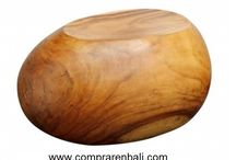 stool huevo / stool huevo de madera de suart. Diseño, producción y fabricación exclusiva y ecológica por www.comprarenbali.com
