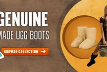 Fashion Boots / These products are made from genuine Australian merino sheepskin in Melbourne by a family run manufacturer.