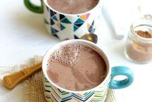 Vegan chai cocoa