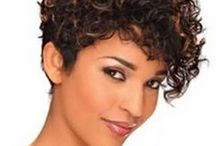 Hairstyles for short curly hair