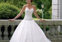 Suknia koronka balowa