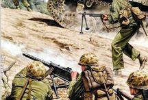 ww2 U.S. Infantry Pacific