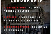 Leadership / Quotes, Phrases and Concepts that relate to leadership