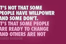 Willpower/Motivation / by Lissa Bloom