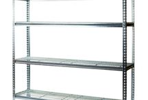 Cool Room Shelving / Cool room shelving offers a flexible solution to various cool room requirements. With adjustable shelves of recessed mesh, adjustable feet for variations in floor levels, and food grade plating, these shelving units can be easily adapted to your storage requirements. 3-tier mobile basket trolleys also available.