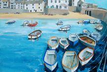 St Ives Art Work