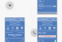 Wireframes / by H H