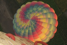 Hot air balloons /
