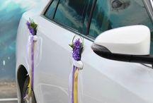 Svatebni dekorace aut