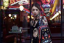 Rebel girl photo