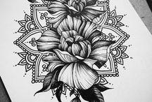 Skulder Tattoo