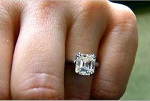Asscher Solitaires / Ideas for Asscher cut diamonds solitaire.