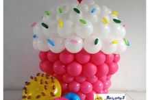 balloons decorations / by Shahaira Habaths