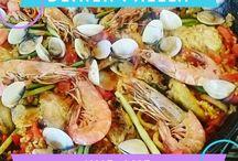 Fish & Seafood / Rezepte rund um Fisch & Meeresfrüchte
