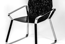 Hexa/design by Sabino Ferrante / Elegance and modernity of carbon fiber expressed in a timeless chair, Hexa blends perfectly everywhere:your home, office or shop.