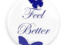 Get Well Soon Buttons / Funny Buttons - Custom Buttons - Promotional Badges - Get Well Soon Pins - Wacky Buttons