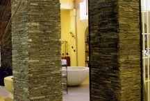 Wandbekleding badkamer