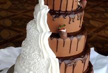 Melanie wedding cake