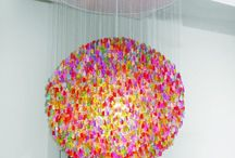chandeliers / by Annie Hammer