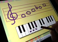 Technology in Music Lessons / The iPad and other technology can be a great addition to piano teaching. Here's some ideas for getting the most out of tech activities in the piano studio.