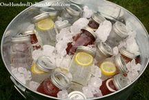 Mason Jars are Wonderful / Creative things to do with Mason Jars.