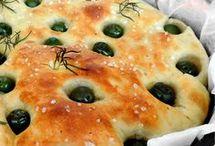 Pizza, focaccia