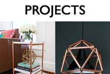 Copper pipe projects