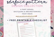 Surface pattern design / All about the industry of surface pattern design