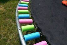 Clever ideas for around the house and yard  / Safe easier clever ways of doing things around the house and yard :)