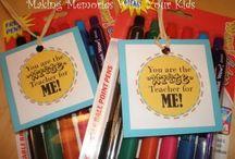 Neat Teacher/Kid Gift Ideas