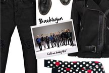 EXO inspired by Polyvore sets