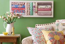 Decorating with quilts / by Katie
