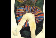 EGON SCHIELE PAINTINGS