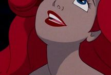Redheads / Ariel, The Little Mermaid and Jessica Rabbit and all their reincarnations / by Queen B