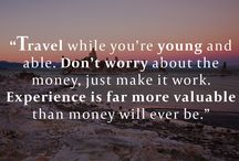 Inspiring Traveling quotes / Planning a trip to San Francisco..!!  Here are some inspirational quotes.
