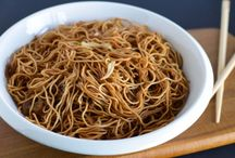 Asian food and Indian food / Noodles etc