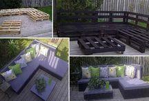 nábytok z paliet//furniture from pallets / perfektný nábytok!